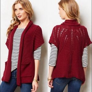 Anthropologie Angel of the North Valletta Cardigan